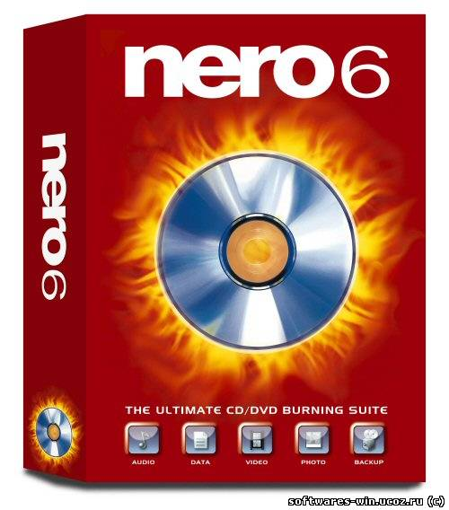 Nero 6 Reloaded 6.6.1.15 + Rus Mega Plugin Pack portable.